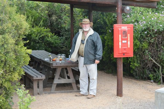 The Colonial on Arundel: Connor als Guide im Addo Elephant Park
