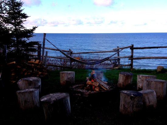 Auberge Griffon Aventure : Campfire spot