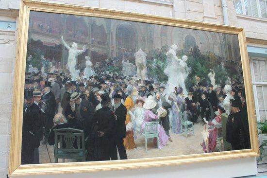 Musee des Beaux-Arts de Rouen: Jules-Alexandre Grün - Un Vendredi au Salon des Artistes français