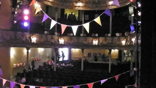 Theatre Royal: The view from the Stage