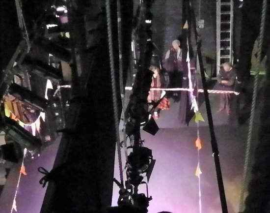 Theatre Royal: The view from the Fly Loft