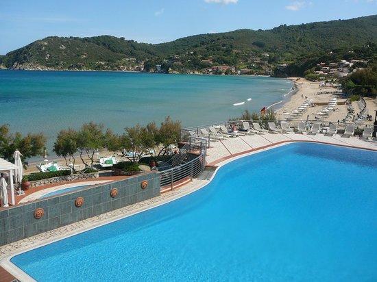 Hotel Hermitage -- Portoferraio: Baia e piscina