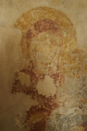 St. George Monastery: Old fresco of 12th century 5