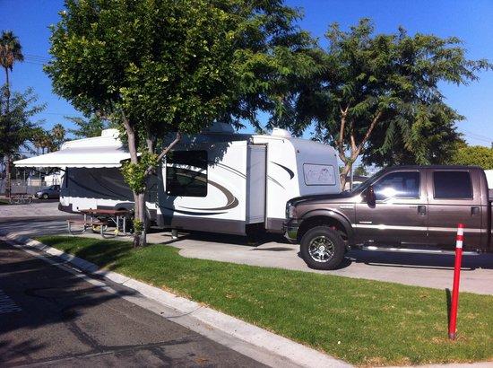 Anaheim RV Park: Anaheim Resort RV Park campsite