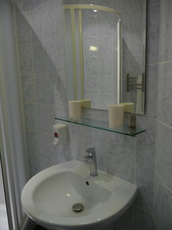 La Boutique Hotel Prague: Salle d'eau - Lavabo