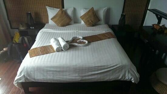 Chintakiri Resort: La chambre à notre arrivée