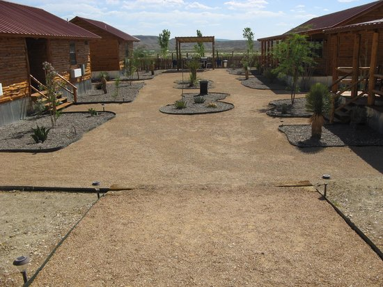 Big Bend Casitas at Far Flung Outdoor Center: Landscaping