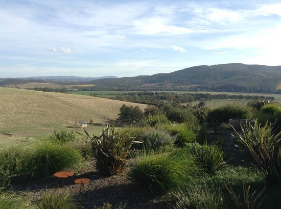 Gracedale Yarra Valley: View from the deck on the Chocolate Suite