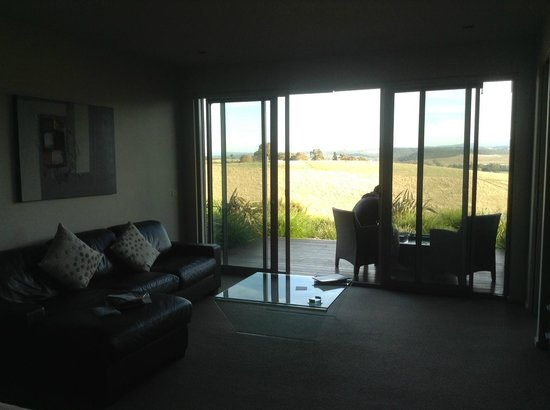 Gracedale Yarra Valley: Chocolate Suite - View from the room