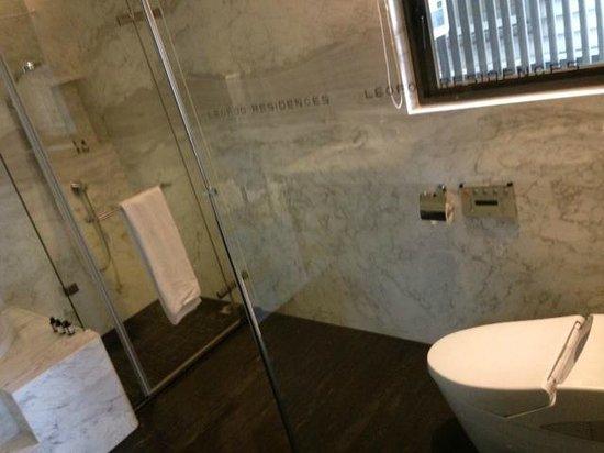 Leofoo Residences: Park-View Room Bathroom