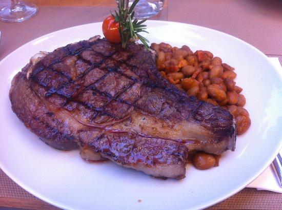 Osteria N15: Steak special!