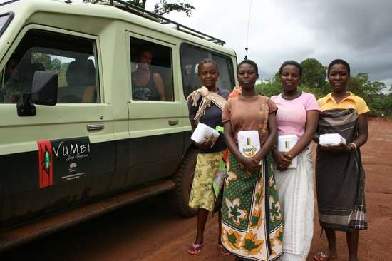 Vumbi Jeep Safaris: Our gifts on the way home.