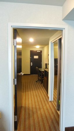 Holiday Inn Hotel & Suites, Williamsburg-Historic Gateway: Rm 501 From Bedroom