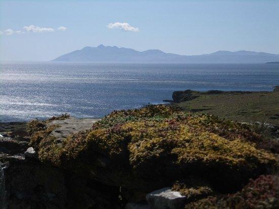 Tir Alainn: view from coastal walk with Ron at Bororaigh