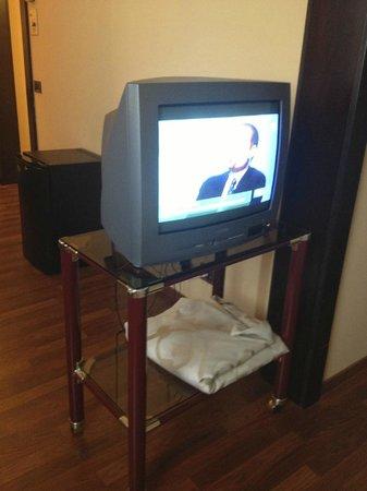 Politeama Palace Hotel: TV VECCHIA