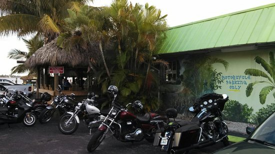 Old Key Lime House: Motorcycle Parking