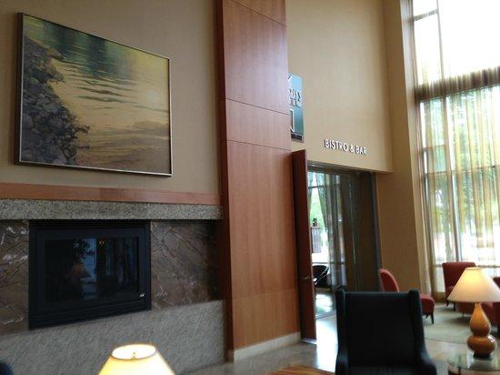هيلتون فانكوفر واشنطن: Restaurant