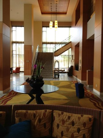 Hilton Vancouver Washington: lobby