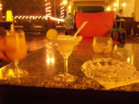 TRS Yucatan Hotel: en la terraza del bar