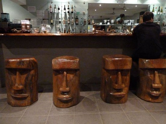 Whet Restaurant: The stools in the bar area