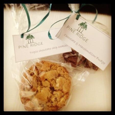 Pine Ridge: cookies & fudge!