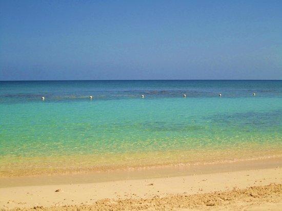 Secrets St. James Montego Bay: The beach