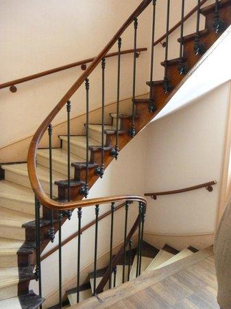 Hotel du Mont Blanc: Stairs