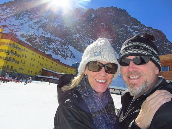 Portillo Hotel: On the slopes at the hotel