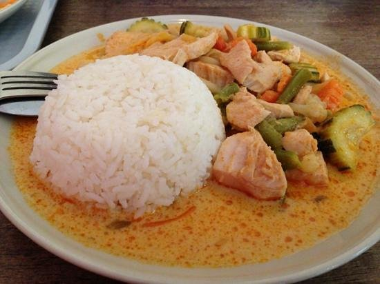 Red Curry House: Red curry dish
