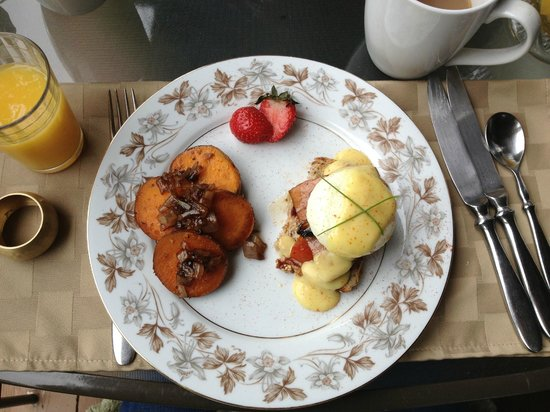 The Chalet of Canandaigua : Another wonderful breakfast made from fresh local produce