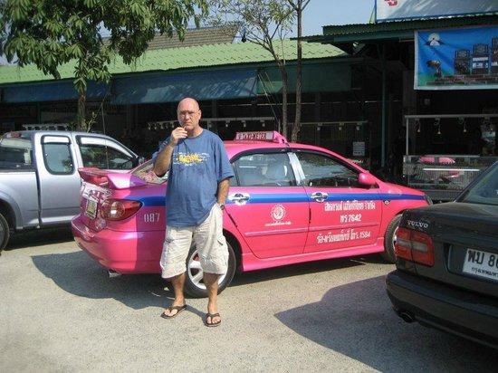 River Kwai Jungle Rafts Resort: taxi