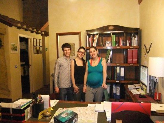 B&B La Casa dei Tintori: Riccardo, cousin, & Lavinia
