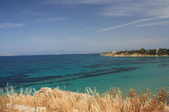 Archaeological Site of Kolona: A breathtaking view of the Aegean