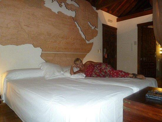 Gar-Anat Hotel Boutique: nuestra habitacion