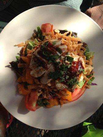 Great Dane Brew Pub : Teriyaki Salad