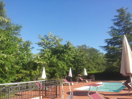 Hotel Residence Sant'Uberto: paesaggio