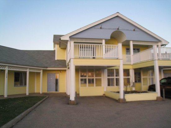 Annapolis Royal Inn: Motel ist schwer zu finden