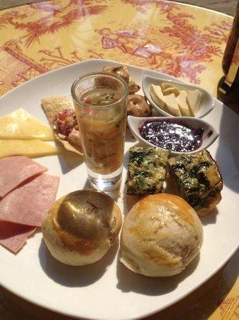 El Jardin de Ninette : brunch dominical :) delicioso