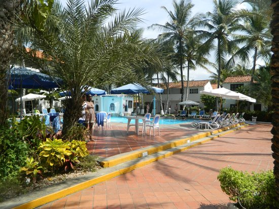Playa el Agua, Venezuela: Pileta