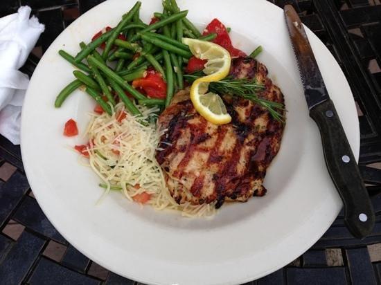 Johnny Carino's : lemon rosemary chicken