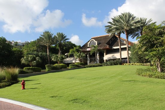 The Westin St. John Resort Villas: A view of the back side of the Main Lobby...