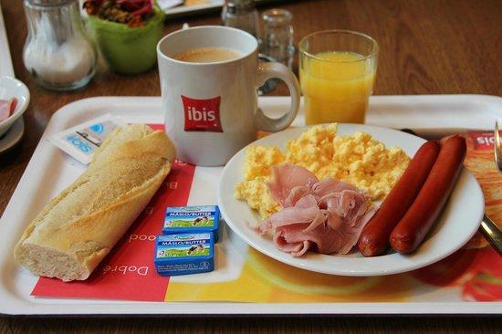 Ibis Praha Wenceslas Square: desayuno
