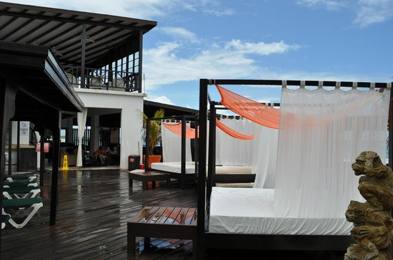 Silver Point Hotel: cabanas