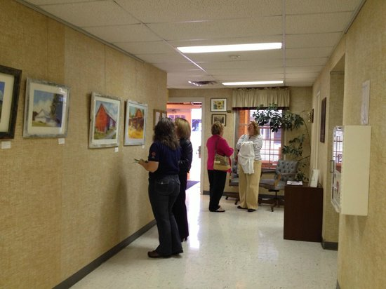 Shenandoah Showcase - Art at the Strasburg Town Hall: Just another 2nd Tuesday artists reception.