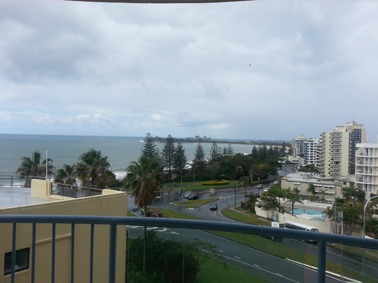 Alexandra on the Pacific: view towards Mooloolabah