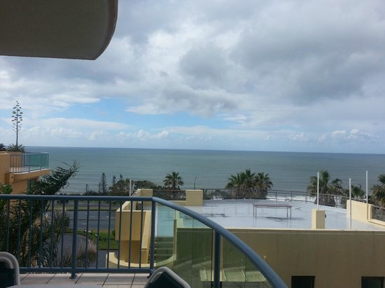 Alexandra on the Pacific: View from dining balcony