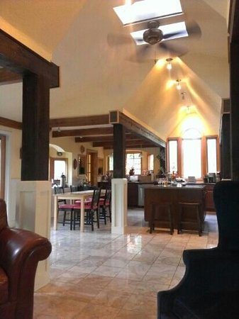 Open plan kitchen at Bella La Vita Inn, Floyd VA