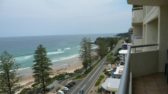 Coolum Caprice Luxury Holiday Apartments: Looking south