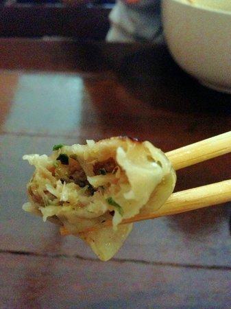 Aji Noren Japanese Restaurant: Yaki Gyoza!! My Favorited