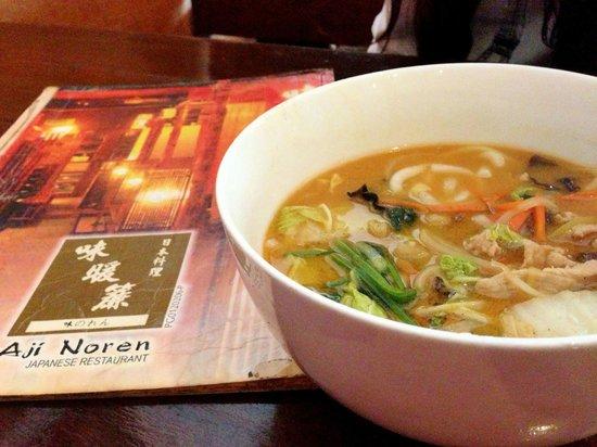 Aji Noren Japanese Restaurant: Kimchi Udon